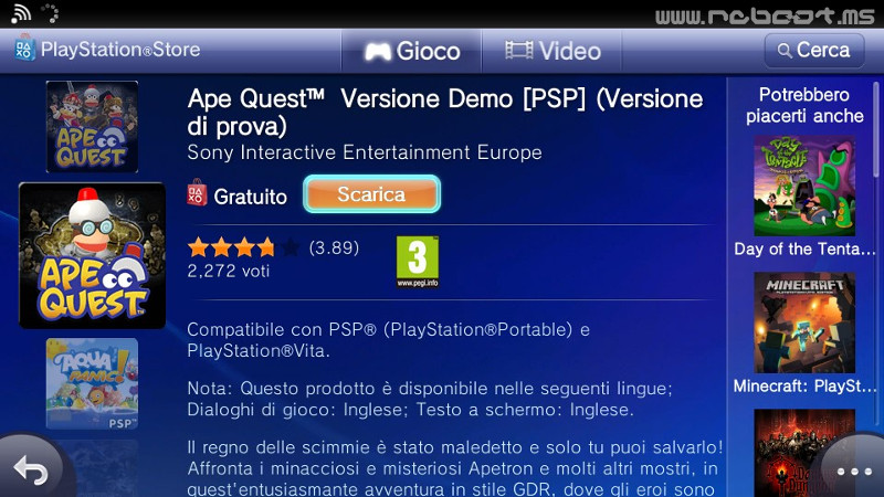 giochi ps vita craccati